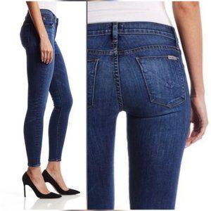 HUDSON Jeans, Raw Hem Krista S. Skinny Ankle Jeans